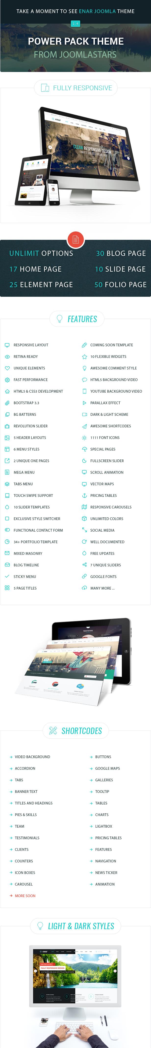 Details - Enar - Responsive Multi-Purpose Joomla Template